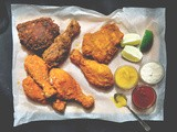 Home-made Fried Chicken {and dipping sauces}