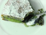 Poppy seed and avocado cake