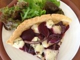 Boyne Valley Blue and Beetroot Tart