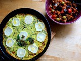Courgette and Goat's Cheese Frittata