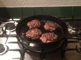 Horse these Burgers into You (Homemade pork and beefburgers)