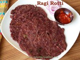 Ragi Rotti | How To Make Ragi Rotti | Finger Millet Flour Roti