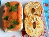 Salmon Terrine with Bagel Toasts, my ideal Christmas breakfast