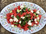 Summer Watermelon, Feta & Mint Salad