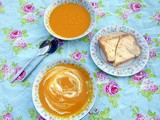 Warming Butternut Squash & Sweet Potato Soup