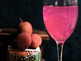 Thai agua fresca: Lychee Flavored Coconut Water