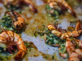 {Recipe} Roasted Prawns in Coriander Chilli Butter