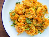 {Recipe} Spicy Prawns Coconut Fry