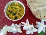 Paneer Bhurji (Scrambled Cottage cheese)