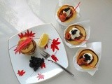 French Fridays With Dorie - Wholewheat Blini with Smoked Salmon and Crème Fraîche