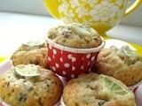 Muffin Monday - Basil Lime Olive Oil Muffins