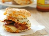 Buttermilk and Cheddar Breakfast Biscuit