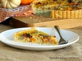 Butternut Squash, Bacon and Blue Cheese Quiche