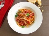 Fettuccine with Bacon and Tomato