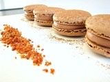 Macarons with Bacon and Chocolate Peanut Butter Cream