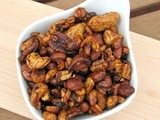 Sweet and Spicy Chili Nuts, Secret Recipe Club
