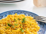 Brown Rice Saffron Risotto (and why Brown Rice is better than White Rice)