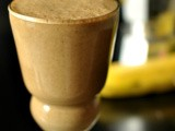 Dense and Nutritious Coffee Banana Smoothie