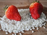 Easy and Light Strawberry Risotto