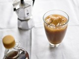 Maple Coconut milk Iced Coffee (Vegan)