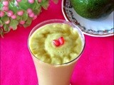 Avocado Milk Shake Recipe / Butter Fruit Milk Shake