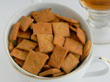 Baked Wheat Biscuits / Healthy Khara Biscuit (Low Fat)
