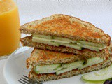 Grilled Granny Smith and Swiss Cheese Sandwich