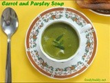 Parsley soup / carrot and parsley soup