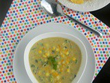 Roasted Poblano Sweet Corn Chowder Recipe