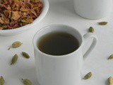 Roja Poo Kashayam / Rose Petal Tea / Herbal Drink for Sore Throat
