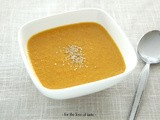 Carrot – Tahini – Ginger soup