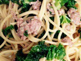 Pasta with Kale and Sausage Recipe