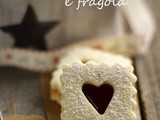 Biscotti al lime e fragola...il mio cookie swap