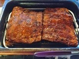 Gluten Free Spicy Smoked Pork Ribs