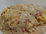 Quick and Easy - Gluten Free Tagliatelli Carbonara