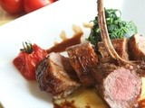 Guest Posting w/ Chef Dennis: Seared Lamb Loin w/ Homemade Demi