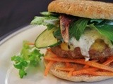 Mediterranean Turkey Burgers w/ Yogurt Ranch Dressing