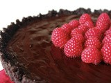 Ultimate Chocolate Raspberry Tart w/ FoodAtick