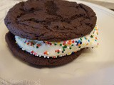 Cake Mix Ice Cream Sandwiches