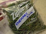 Freezing Rosemary & Other Herbs