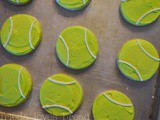 Frosting Sugar Cookie Tip: Tennis Balls