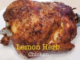 Instant vortex Air Fryer Rotisserie 101- Lemon Herb Chicken