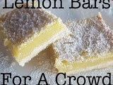 Lemon Bars For a Crowd! (18x13 and 9x13 sizes)