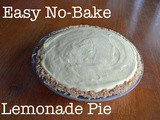 No Bake Cremay Lemonade Pie