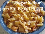 Pressure Cooker Apple Pie Bread Pudding