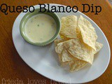 Queso Blanco Chip Dip