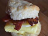 Quick Bacon and Egg Biscuit