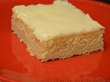 Quick & Easy Dessert for a Group:  White Texas Sheet Cake