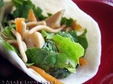 Sesame Ginger Salad Wraps