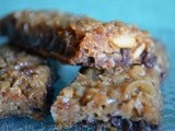 Soft and Chewy Peanut Butter Granola Bars